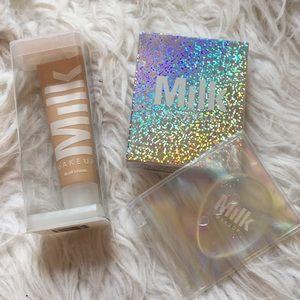 milk makeup Makeup - NIB Milk Makeup Blur Liquid Foundation & Dab/blend
